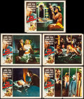 """Movie Posters:Film Noir, The Big Combo (Allied Artists, 1955) Fine/Very Fine. Lobby Cards (5) (11"""" X 14""""). Film Noir.. ... (Total: 5 Items)"""