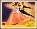 """Movie Posters:Musical, You Were Never Lovelier (Columbia, 1942). Very Fine-. Lobby Card (11"""" X 14""""). Musical.. ..."""