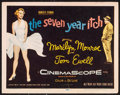 Movie Posters, The Seven Year Itch (20th Century Fox, 1955) Fine/Very Fin...