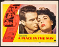 Movie Posters, A Place in the Sun (Paramount, 1951). Fine/Very Fine.