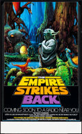 Movie Posters, The Empire Strikes Back (20th Century Fox, 1982). Rolled, ...