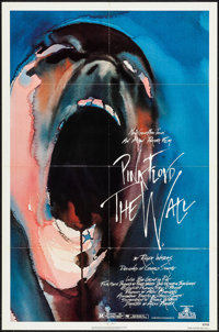 "Pink Floyd: The Wall (MGM, 1982). Folded, Very Fine-. One Sheet (27"" X 41"") Gerald Scarfe Artwork. Rock and Ro..."