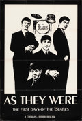 """Movie Posters:Rock and Roll, The Beatles, As They Were (Creswin/Ritter, 1979). Folded, Very Fine-. Canadian Poster (29.55"""" X 43.25""""). Rock and Roll.. ..."""