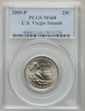 Statehood Quarters, 2009-P 25C U.S. Virgin Islands MS68 PCGS....