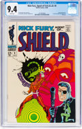 Silver Age (1956-1969):Superhero, Nick Fury, Agent of S.H.I.E.L.D. #5 (Marvel, 1968) CGC NM 9.4 Whitepages....
