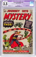 Silver Age (1956-1969):Superhero, Journey Into Mystery #83 (Marvel, 1962) CGC Apparent VG- 3.5 Slight (C-1) Off-white to white pages....