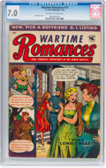Golden Age (1938-1955):Romance, Wartime Romances #13 (St. John, 1953) CGC FN/VF 7.0 Off-white to white pages....