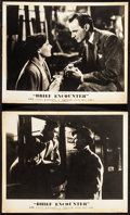 "Movie Posters:Romance, Brief Encounter (Eagle Lion, 1946). British Front of House Lobby Cards (2) (11"" X 14""). Romance.. ... (Total: 2 Items)"