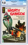 Silver Age (1956-1969):Superhero, Mighty Samson #12 (Gold Key, 1967) CGC NM/MT 9.8 White pages....