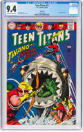 Silver Age (1956-1969):Superhero, Teen Titans #11 Savannah Pedigree (DC, 1967) CGC NM 9.4 Off-whiteto white pages....