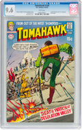 Bronze Age (1970-1979):Adventure, Tomahawk #130 (DC, 1970) CGC NM+ 9.6 White pages....
