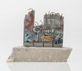 Fine Art - Sculpture, European:Contemporary (1950 to present), After Banksy . Souvenir Wall Section, 2017. Painted cast resin with concrete. 4-1/4 x 5 x 3-1/4 inches (10.8 x 12.7 x 8....