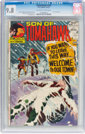 Bronze Age (1970-1979):Western, Tomahawk #139 (DC, 1972) CGC NM/MT 9.8 Off-white to white pages....