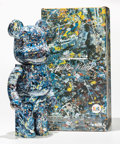 General Americana, BE@RBRICK X Jackson Pollock Studio. Jackson Pollock 1000%,2016. Painted cast resin. 28 x 13-1/2 x 9 inches (71.1 x 34.3...