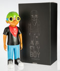 Fine Art - Sculpture, American:Contemporary (1950 to present), Hebru Brantley (American, b. 1981). Flyboy, 2018. Paintedcast vinyl. 18 x 7 x 5 inches (45.7 x 17.8 x 12.7 cm). Stamped...