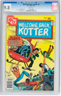 Bronze Age (1970-1979):Humor, Welcome Back, Kotter #8 (DC, 1977) CGC NM/MT 9.8 White pages....
