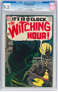 The Witching Hour #1 (DC, 1969) CGC NM- 9.2 Off-white to white pages