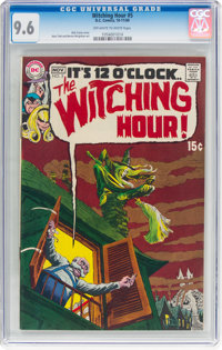 The Witching Hour #5 (DC, 1969) CGC NM+ 9.6 Off-white to white pages
