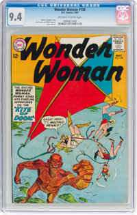 Wonder Woman #138 (DC, 1963) CGC NM 9.4 Off-white to white pages