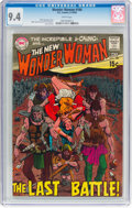 Silver Age (1956-1969):Superhero, Wonder Woman #184 (DC, 1969) CGC NM 9.4 White pages....