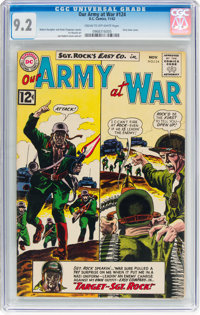 Our Army at War #124 (DC, 1962) CGC NM- 9.2 Cream to off-white pages