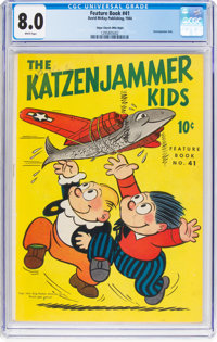 Feature Books #41 Katzenjammer Kids - Mile High Pedigree (David McKay Publications, 1944) CGC VF 8.0 White pages