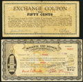 Obsoletes By State:Iowa, (Des Moines), IA- Polk County $1 Aug. 22, 1933 Shafer IA575-1b;. Earlham, IA- Exchange Coupon 50¢ Apr. 4, 1933 Shafer IA... (Total: 2 notes)