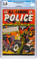 Golden Age (1938-1955):Crime, All-Famous Police Cases #6 (Star Publications, 1952) CGC GD/VG 3.0 Cream to off-white pages....