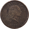 Large Cents, 1793 1C Chain, AMERICA, Periods, S-4, B-5, R.3, VF25 PCGS....