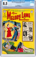 Golden Age (1938-1955):Humor, Miss Melody Lane of Broadway #2 (DC, 1950) CGC VF+ 8.5 Off-white to white pages....