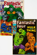 Silver Age (1956-1969):Superhero, Fantastic Four #86 and 112 Group (Marvel, 1969-71) Condition:Average FN.... (Total: 2 Comic Books)