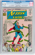 Silver Age (1956-1969):Superhero, Action Comics #295 (DC, 1962) CGC NM- 9.2 Cream to off-whitepages....