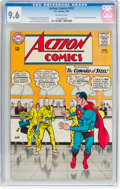 Silver Age (1956-1969):Superhero, Action Comics #322 (DC, 1965) CGC NM+ 9.6 Off-white pages....