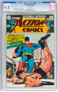 Silver Age (1956-1969):Superhero, Action Comics #372 (DC, 1969) CGC NM/MT 9.8 White pages....