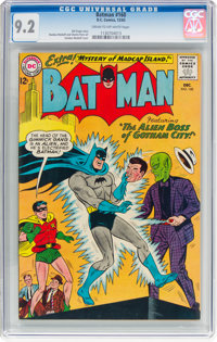 Batman #160 (DC, 1963) CGC NM- 9.2 Cream to off-white pages
