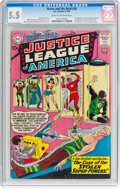 Silver Age (1956-1969):Superhero, The Brave and the Bold #30 Justice League of America (DC, 1960) CGCFN- 5.5 Cream to off-white pages....