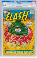 Silver Age (1956-1969):Superhero, The Flash #122 (DC, 1961) CGC VF/NM 9.0 Off-white pages.