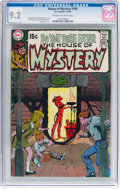 Bronze Age (1970-1979):Horror, House of Mystery #184 (DC, 1970) CGC NM- 9.2 Off-white to whitepages....