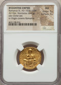 Ancients:Byzantine, Ancients: Romanus III Argyrus (AD 1028-1034). AV histamenon nomisma(22mm, 4.41 gm, 7h). NGC AU 5/5 - 4/5. ...