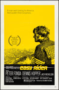 """Movie Posters:Drama, Easy Rider (Columbia, 1969). Folded, Fine/Very Fine. One Sheet (27""""X 41"""") Style A. Drama.. ..."""