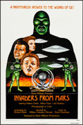 Movie Posters:Science Fiction, Invaders from Mars & Other Lot (Wade Williams, R-1976). Fo...