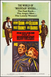 """Requiem for a Heavyweight (Columbia, 1962). Folded, Very Fine. One Sheet (27"""" X 41""""). Sports"""