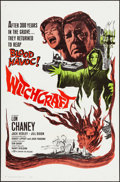 """Movie Posters:Horror, Witchcraft (20th Century Fox, 1964). Folded, Very Fine. One Sheet (27"""" X 41""""). Horror.. ..."""