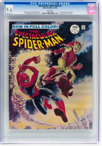 Spectacular Spider-Man #2 (Marvel, 1968) CGC NM+ 9.6 White pages