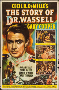 "The Story of Dr. Wassell (Paramount, 1944). Folded, Fine. One Sheet (27"" X 41""). War"