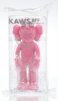 Collectible, KAWS (American, b. 1974). BFF Companion (Pink), 2017. Painted cast vinyl. 13-1/2 x 5 x 3-1/2 inches (34.3 x 12.7 x 8.9 c...