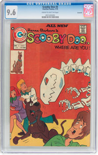 Scooby Doo, Where Are You? #3 Savannah Pedigree (Charlton, 1975) CGC NM+ 9.6 Cream to light tan pages