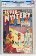 Golden Age (1938-1955):Crime, Super-Mystery Comics V8#5 Canadian Edition (Ace, 1948) CGC VF 8.0 Off-white pages....