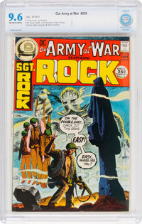 Our Army at War #236 (DC, 1971) CBCS NM+ 9.6 Off-white to white pages