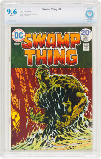 Swamp Thing #9 (DC, 1974) CBCS NM+ 9.6 White pages